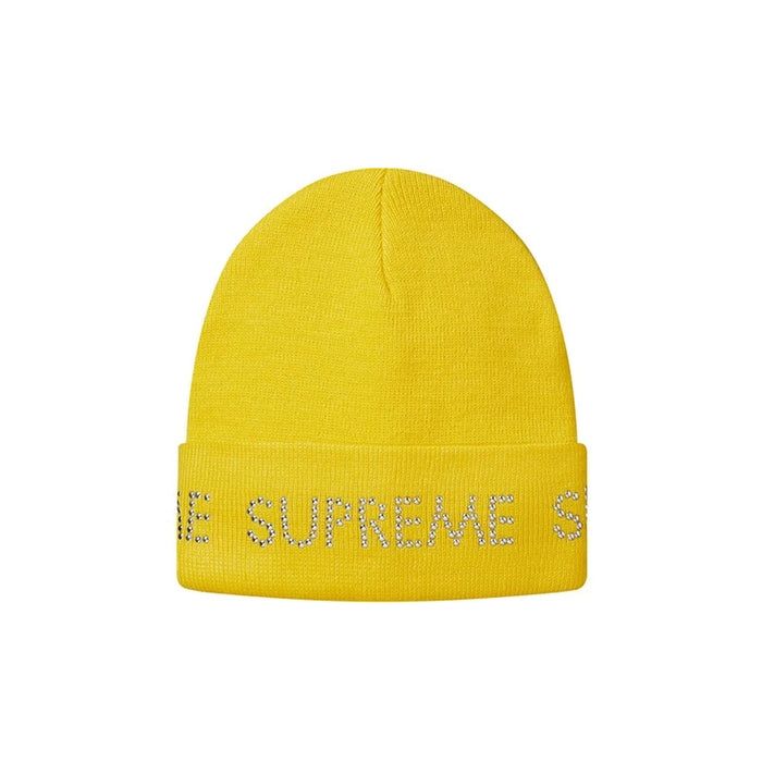 Supreme Studded Beanie Yellow