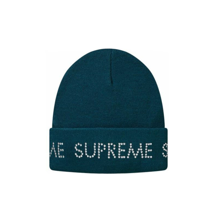Supreme Studded Beanie Teal