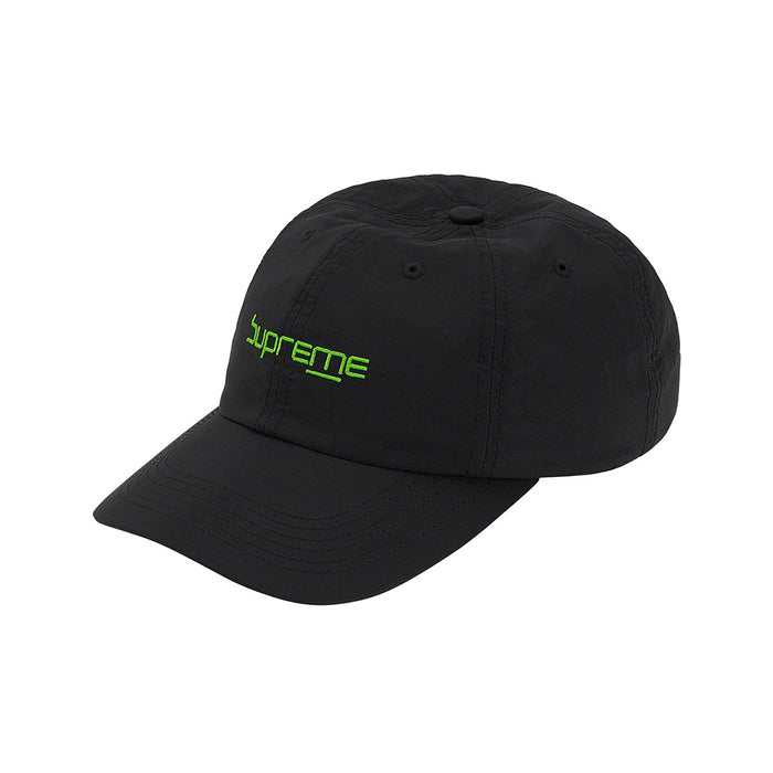 Supreme Digital Logo 6-Panel Black