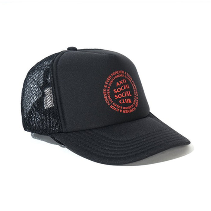 Anti Social Social Club Truck Stop Cap Black