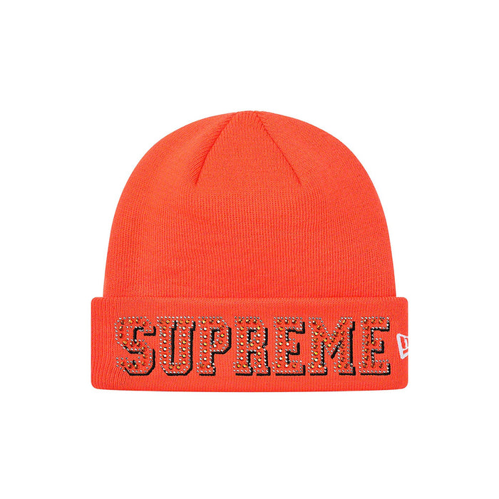 Supreme New Era Gems Beanie Orange