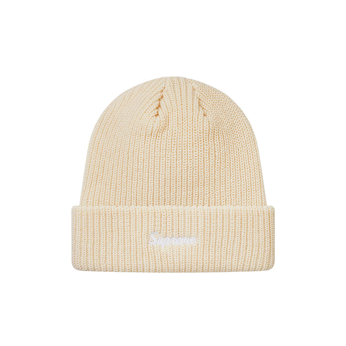 Supreme Loose Gauge Beanie Natural