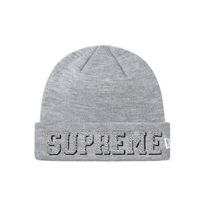 Supreme New Era Gems Beanie Grey