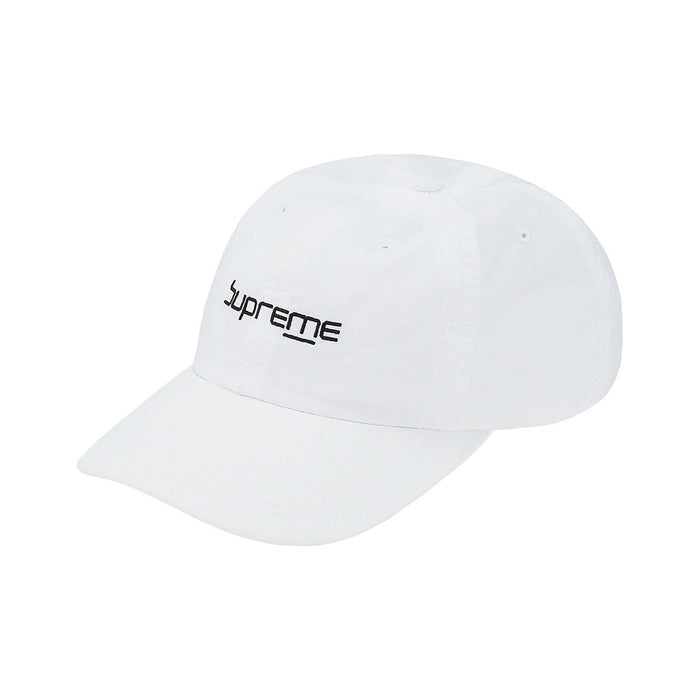 Supreme Digital Logo 6-Panel White