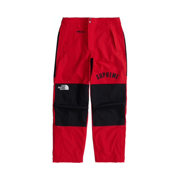 Supreme TNF Arc Logo Mountain Pant Red