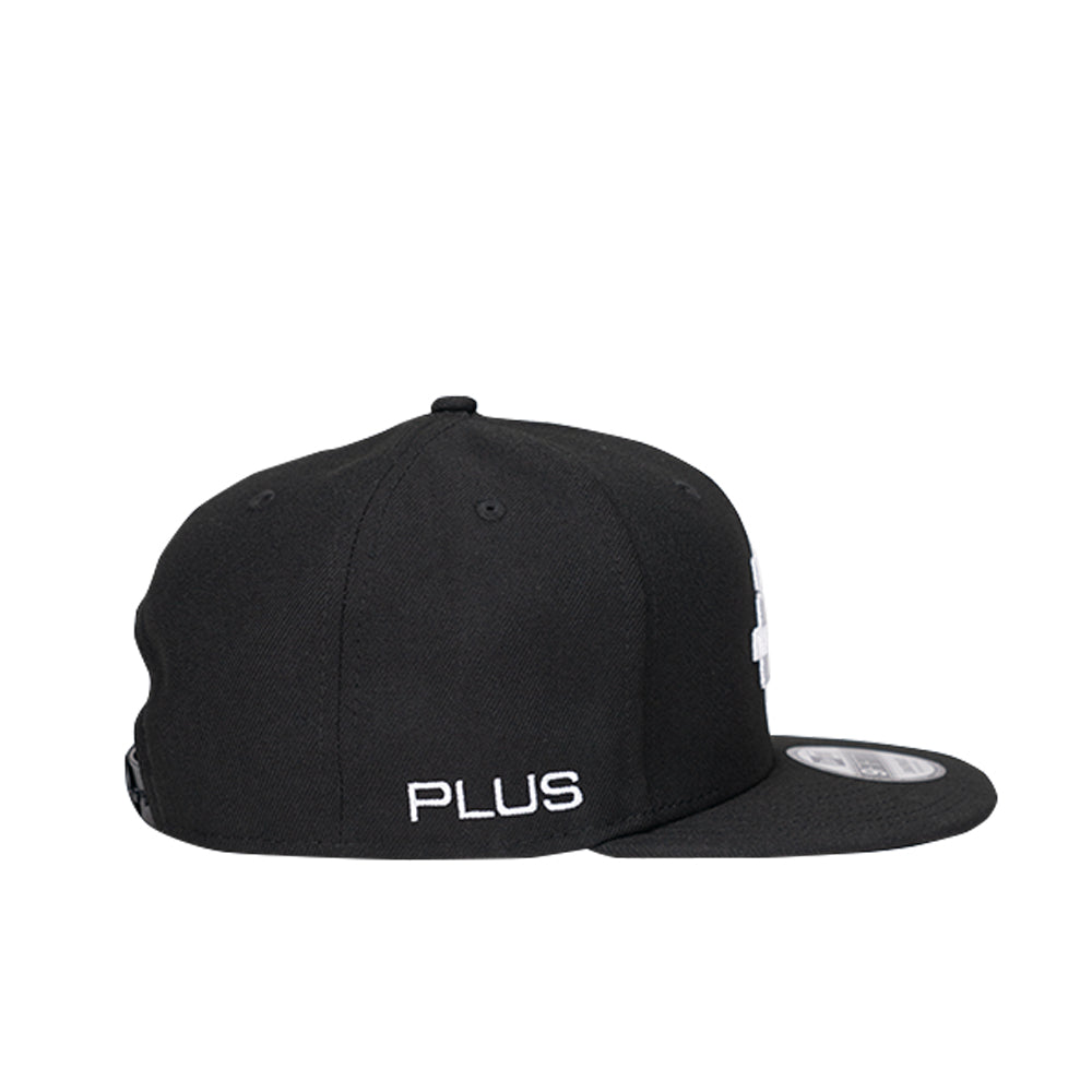 PLUS New Era Snapback Cap Black