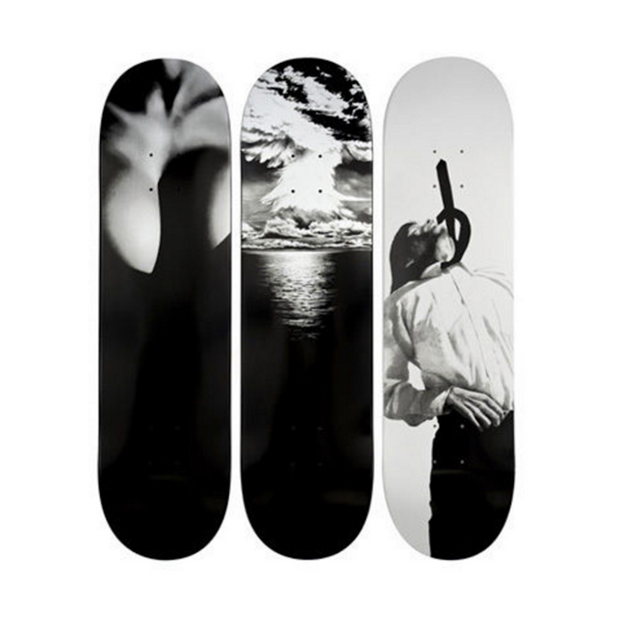 Supreme Robert Longo Skateboard Deck Set (2011)