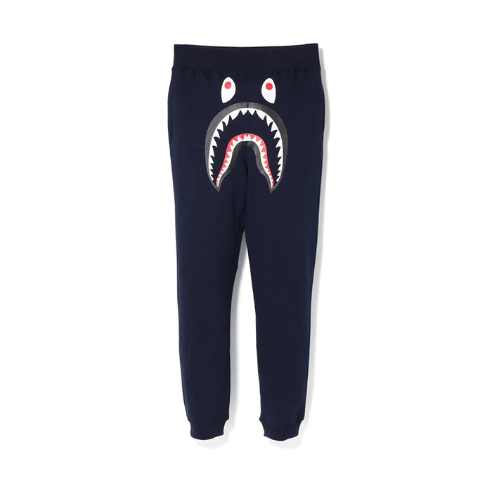 Bape Shark Sweat Pants Dark Navy