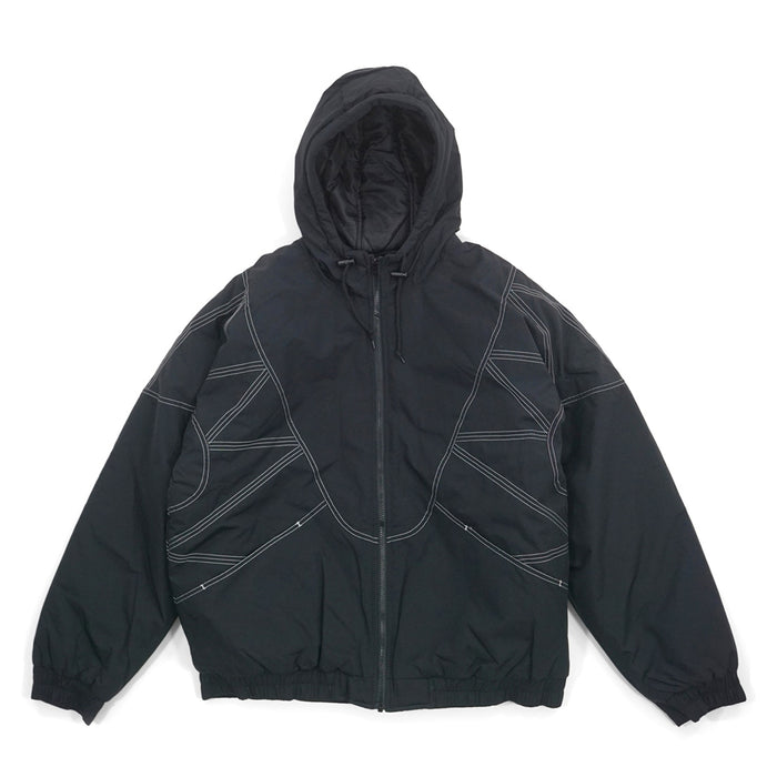 Supreme Zig Zag Stitch Puffy Jacket Black