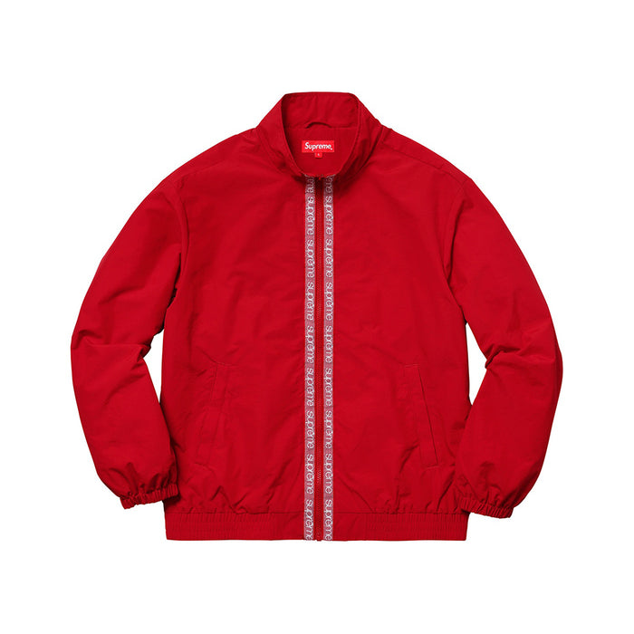 Supreme Classic Logo Taping Track Jacket Red