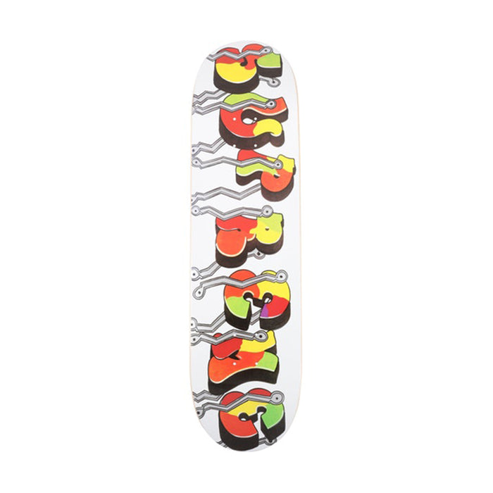 Supreme Blade Whole Car Skateboard Deck White