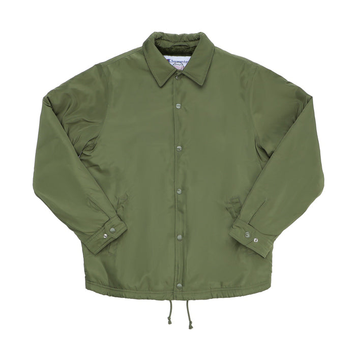 Supreme Champion Label Coaches Jacket Olive