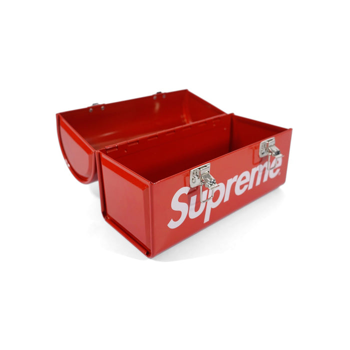 Supreme Metal Lunch Box Red