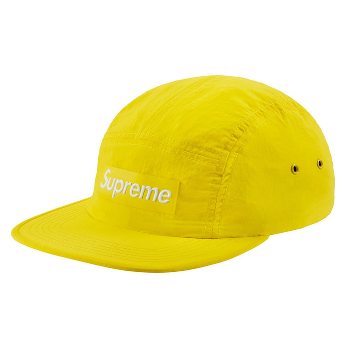 Supreme Raised Logo Patch Camp Cap Yellow