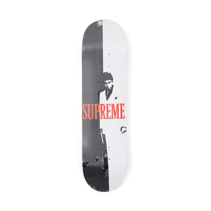 Supreme Scarface Split Skateboard Deck Multi