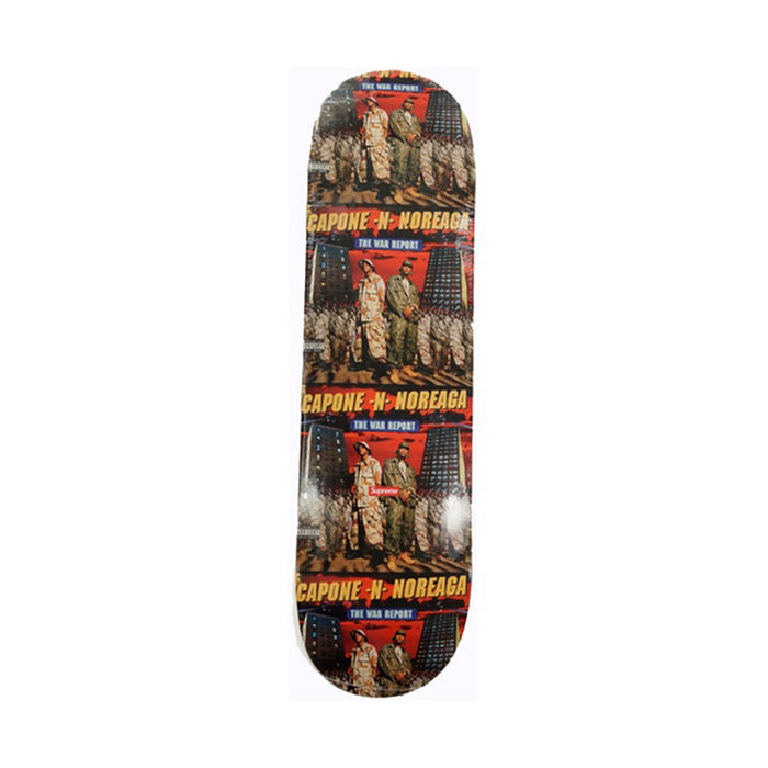 Supreme The War Report Skateboard Deck Multi