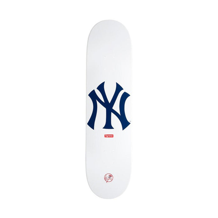 Supreme New York Yankees Skateboard Deck White