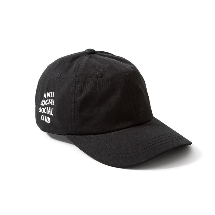 Anti Social Social Club Weird Cap Black