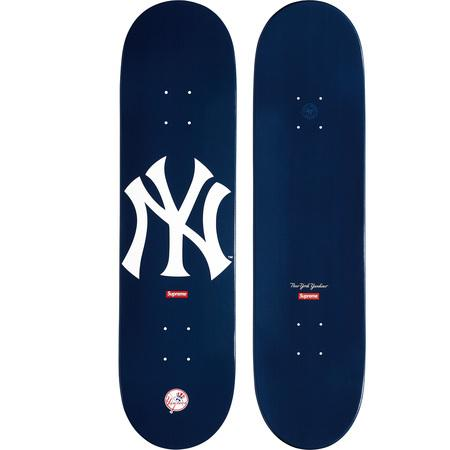 Supreme New York Yankees Skateboard Deck Navy