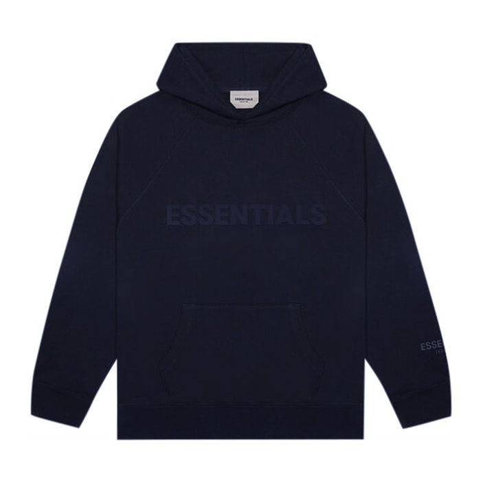 FOG ESSENTIALS Applique Pullover Hoodie Dark Navy