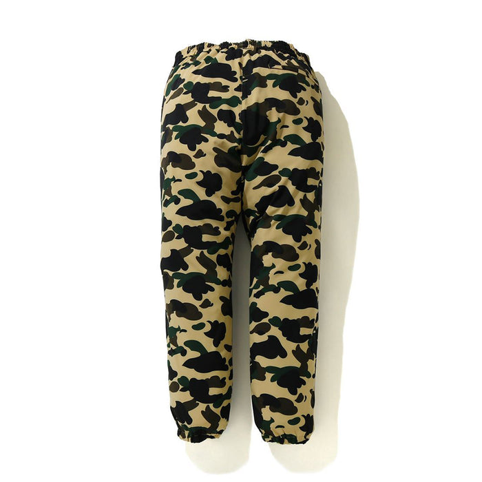 BAPE 1ST CAMO STRETCH TRACK PANTS
