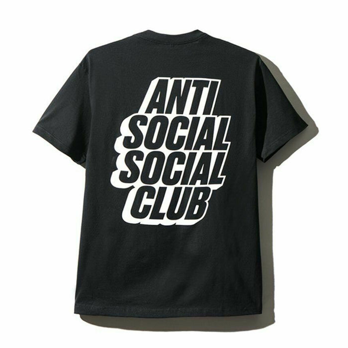 Anti Social Social Club Blocked Tee Black