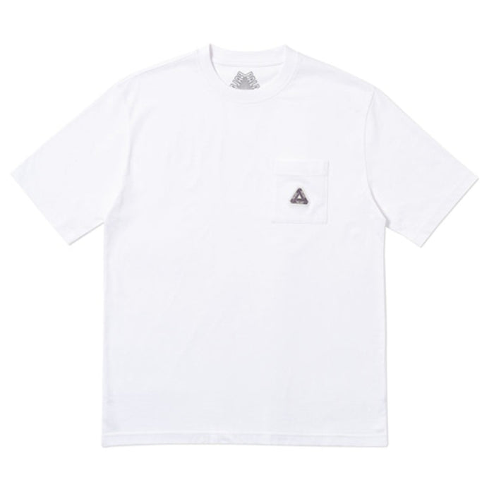 Palace Sofar Pocket T-Shirt White