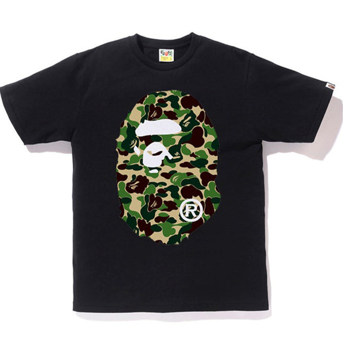 BAPE ABC Big Ape Head Tee Black/Green