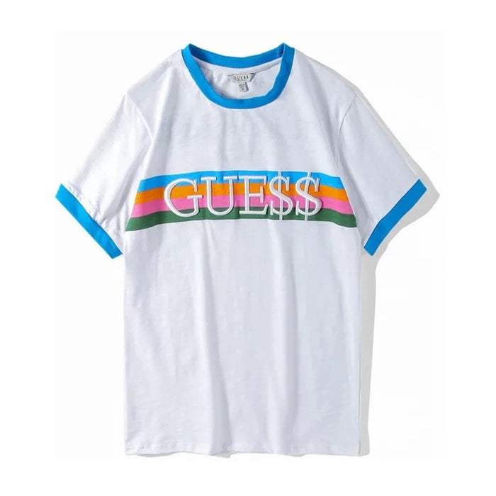A$AP ROCKY X Guess Ringer Tee White