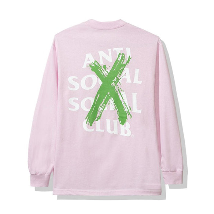 Anti Social Social Club Cancelled Remix L/S Tee Pink