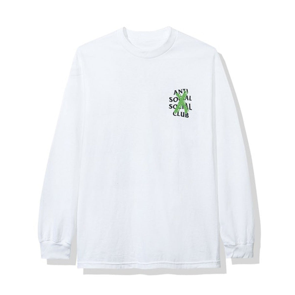 Anti Social Social Club Cancelled Remix L/S Tee White