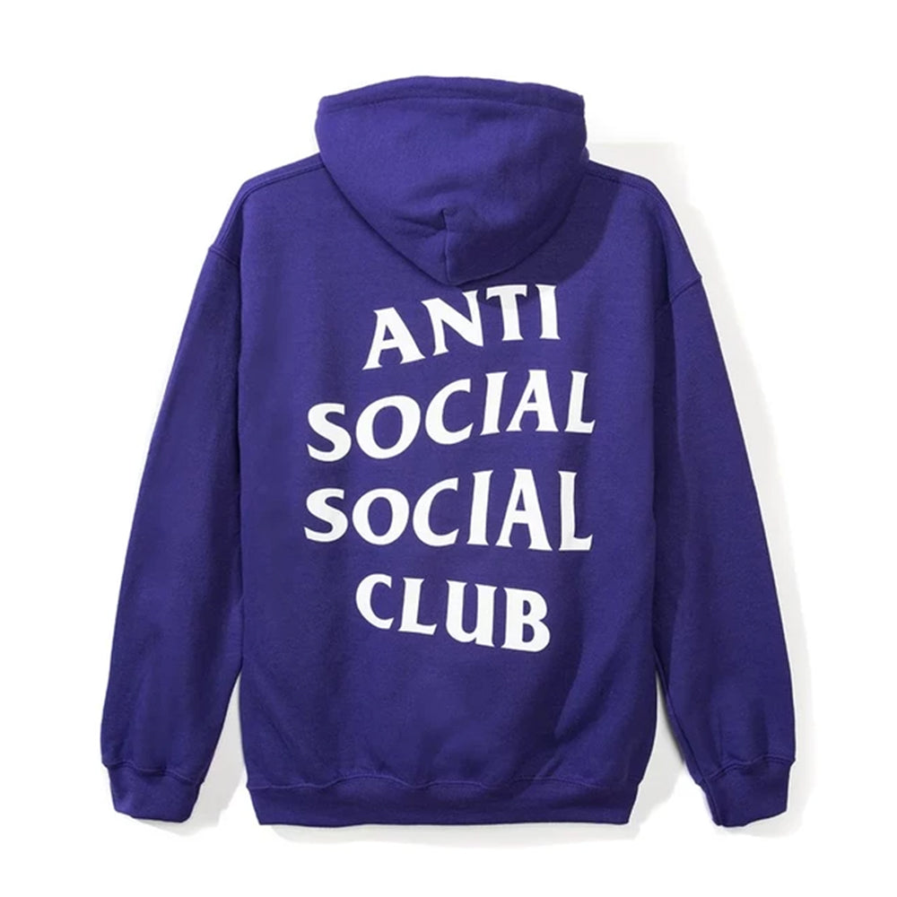 Anti Social Social Club Lowkey Hoodie Purple