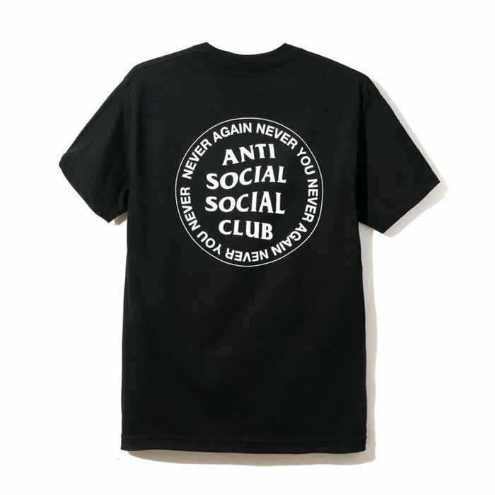 Anti Social Social Club Never You Black Tee Black