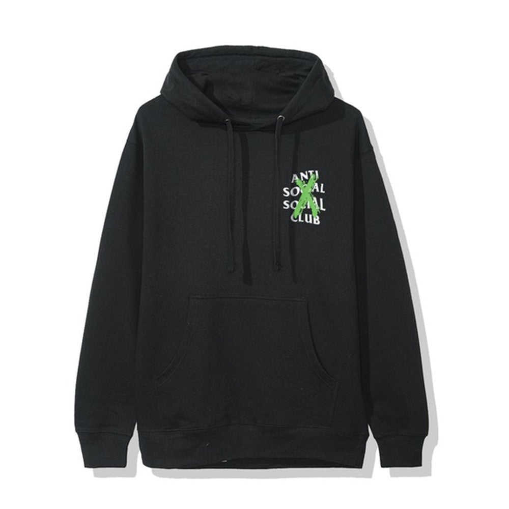 Anti Social Social Club Cancelled Remix Hoodie Black