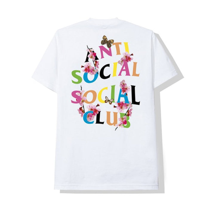 Anti Social Social Club Frantic Tee White