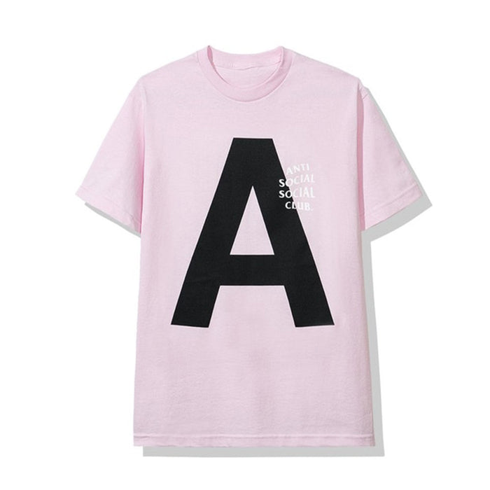 "Anti Social Social Club Catchem ""A"" Tee Pink"