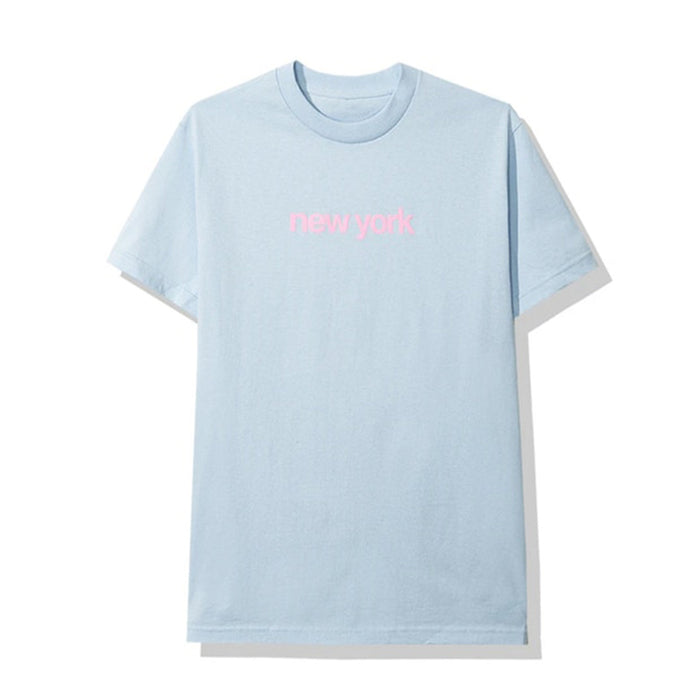Anti Social Social Club New York Tee Light Blue