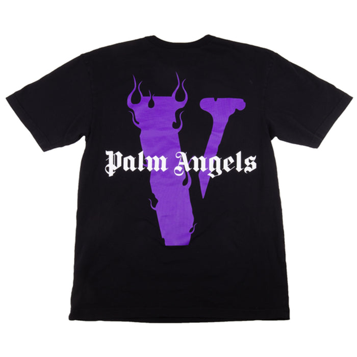 Vlone x Palm Angels Tee Black/Purple