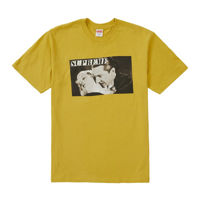Supreme Bela Lugosi Tee Acid Yellow