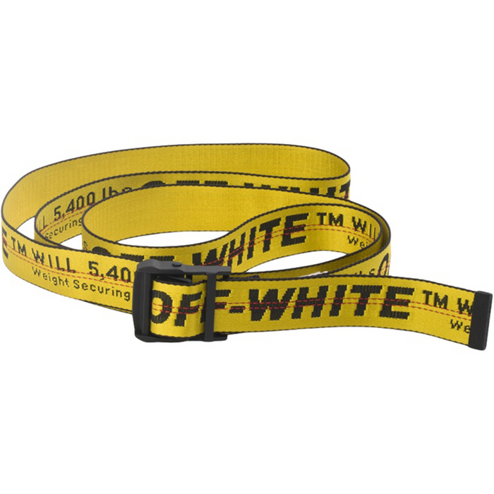 Off-White Industrial Belt Yellow/Black