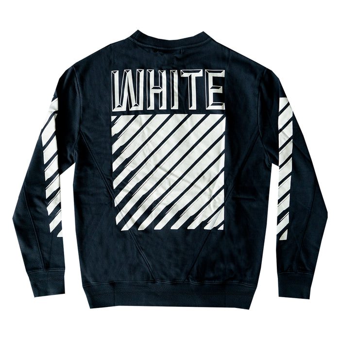 Off-White 3D Crewneck Navy