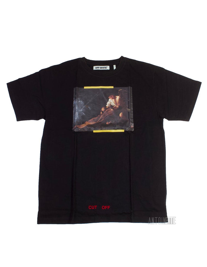 Off-White Black Annunciation T-Shirt