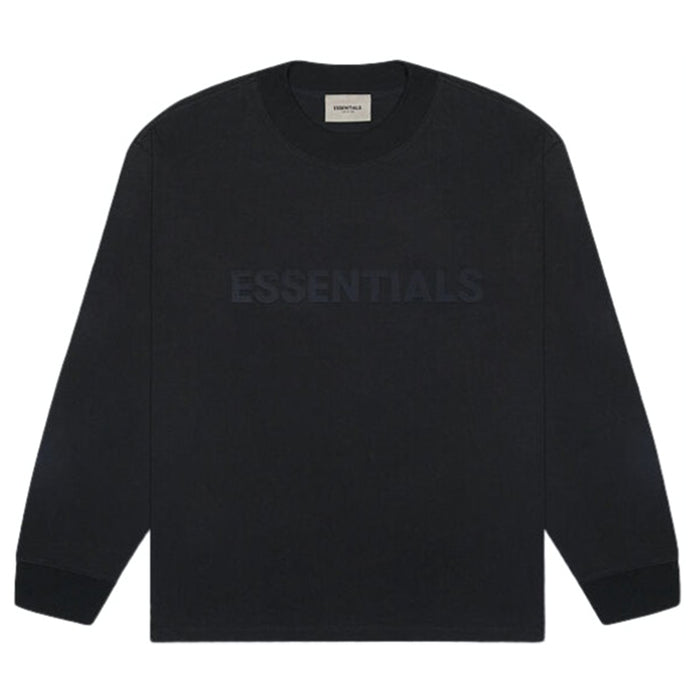 FOG ESSENTIALS Applique L/S Tee Black (SS20)