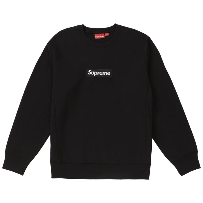 Supreme Box Logo Crewneck (FW18) Black