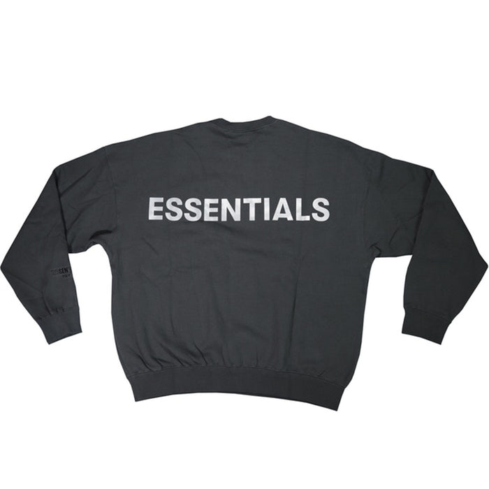 FOG ESSENTIALS 3M Logo Crewneck Sweatshirt Black/Black