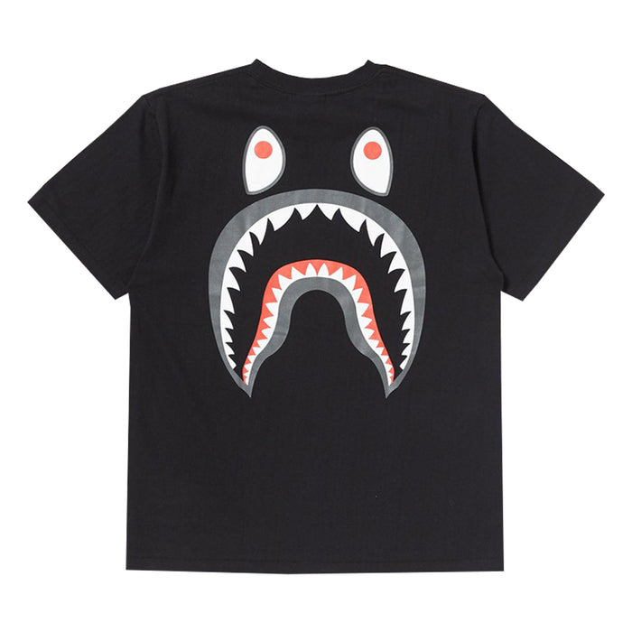Bape PONR Shark Tee Black