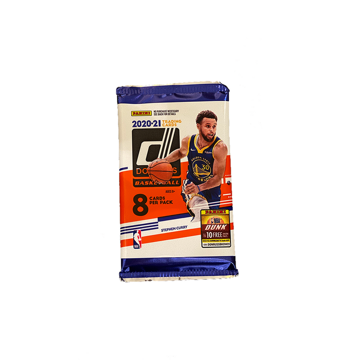2020-21 Panini Donruss Basketball Booster Pack