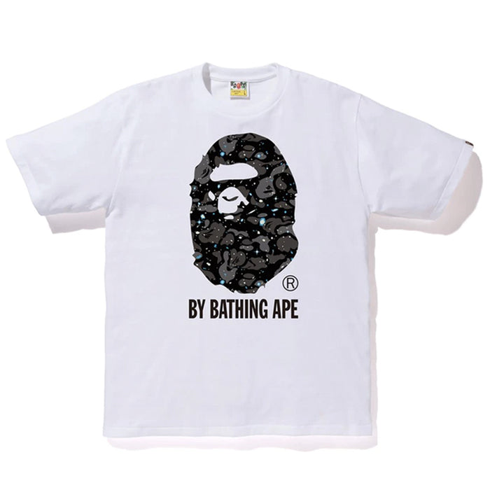 BAPE Space Camo By Bathing Tee (SS19) White