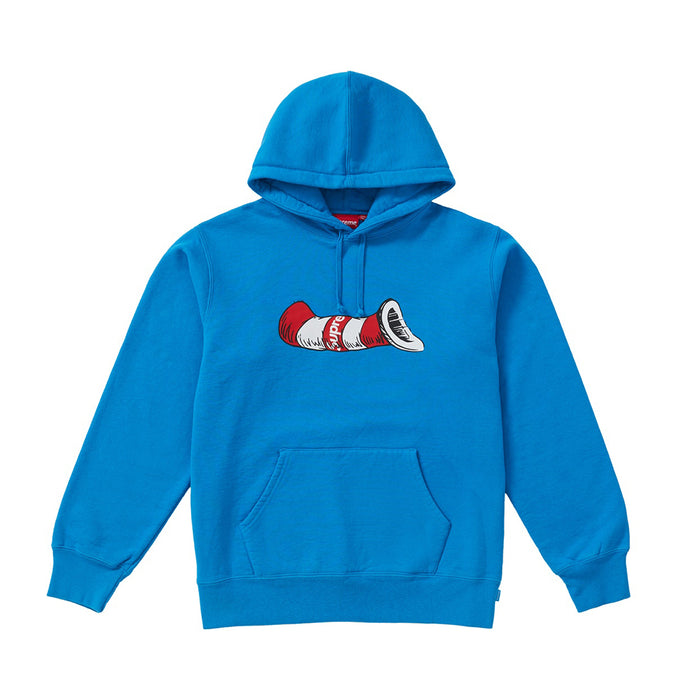 Supreme Cat in the Hat Hooded Sweatshirt Bright Royal