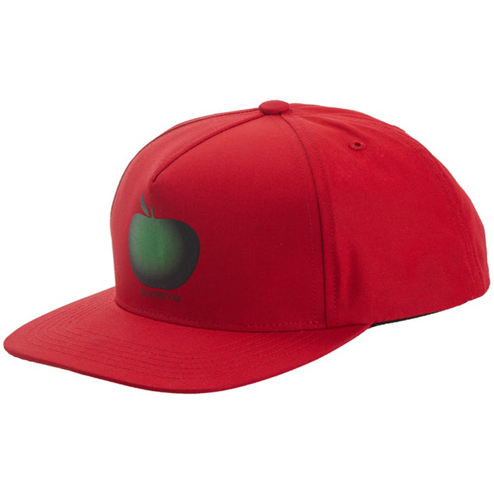 Supreme Apple 5-Panel Red